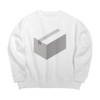 cardboard-box-mono Big silhouette sweats