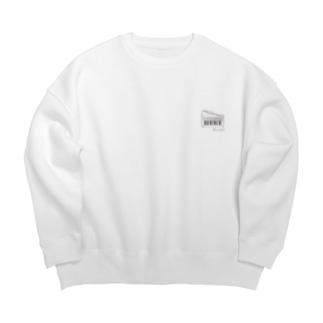 【期間限定商品】ビッグシルエットアンデスウェット(ミニロゴ) Big silhouette sweats