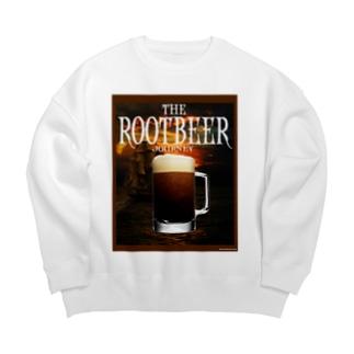 THE ROOT BEER JOURNEY Big Crew Neck Sweatshirt