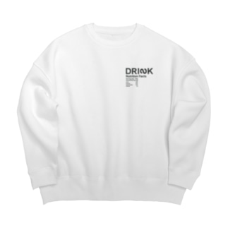DRINKのMessages graphic 005W Big silhouette sweats