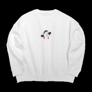 Starfish&Co.のOtafuku Big silhouette sweats