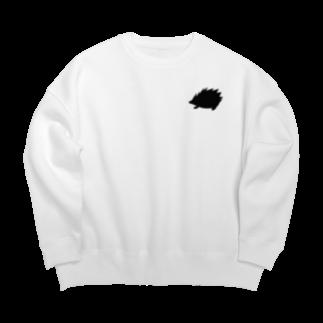 ラルゴのハリネズミ Big silhouette sweats