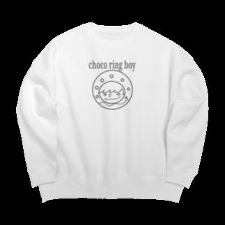 チョコリングボーイのお店のchoco ring boy / type-C Big silhouette sweats