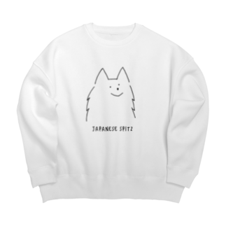 mochi_14のご機嫌な犬 ビッグシルエットスウェット Big silhouette sweats