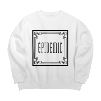 EPIDEMICのEPIDEMIC square Big silhouette sweats