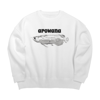 zikomanking SHOPのarowana Big silhouette sweats