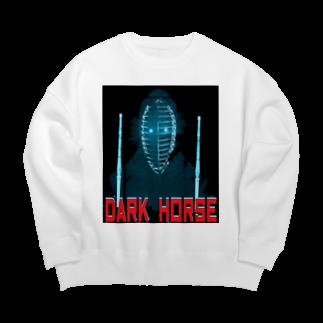 Danke Shoot CoffeeのDark House Player (2P) Big silhouette sweats
