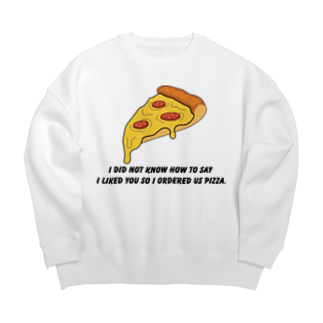 people with soulsのPIZZA collection Big silhouette sweats