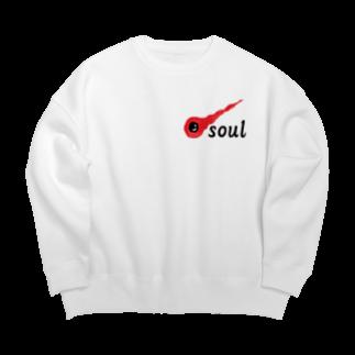 アメリカンベースの魂 soul Big silhouette sweats