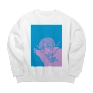 ジャンピン-A Big Crew Neck Sweatshirt