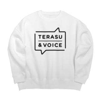 TERASU&VOICE Big silhouette sweats