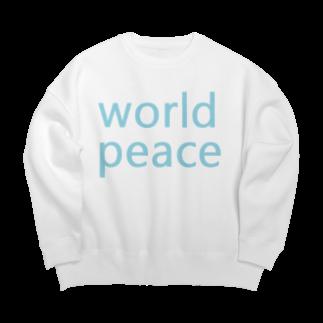 アメリカンベースの世界平和 Big silhouette sweats
