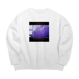 WALL Big Crew Neck Sweatshirt