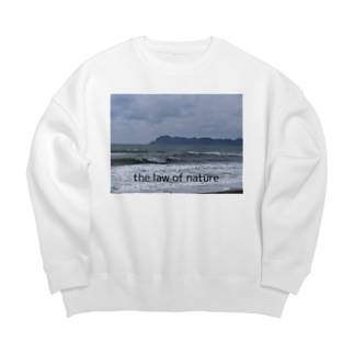 the law of nature Big silhouette sweats