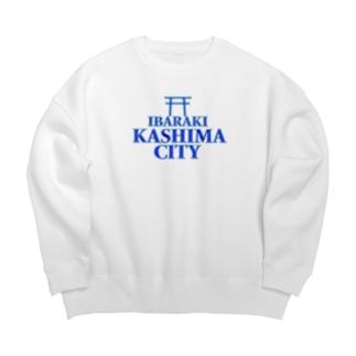 IBARAKI KASHIMA CITY Ver.2 Big silhouette sweats