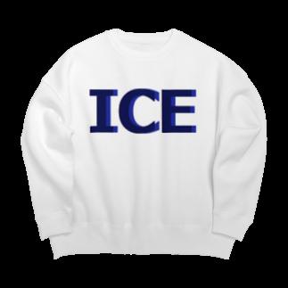 アメリカンベースのアイス Big silhouette sweats