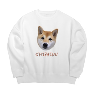 kawaii柴犬・改 Big Crew Neck Sweatshirt