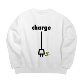 charge Big silhouette sweats