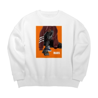Young people living on Mars.02 Big silhouette sweats
