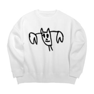 かに Big Crew Neck Sweatshirt