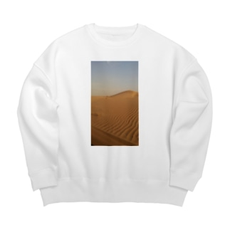 サハラ砂漠 Big silhouette sweats