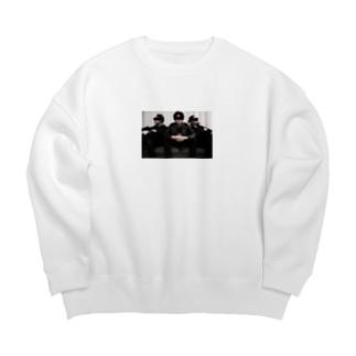 斉藤兄弟フォトシリーズ Big silhouette sweats