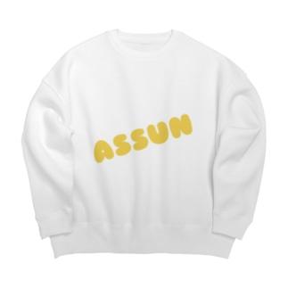 gochisosamaのAssun Big silhouette sweats