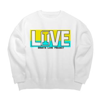 I LOVE LIVE ~ミニオンカラー~ Big silhouette sweats