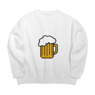 ビール Big silhouette sweats