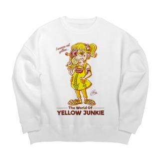 The World of YELLOW JUNKIEのYELLOW JUNKIE 「Candy」 Big silhouette sweats