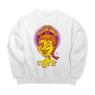 The World of YELLOW JUNKIEのYELLOW JUNKIE 「すきっ歯ガール」 Big silhouette sweats