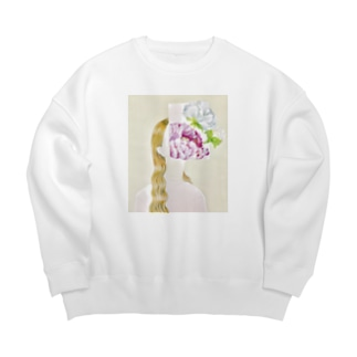 among in the flower Big silhouette sweats