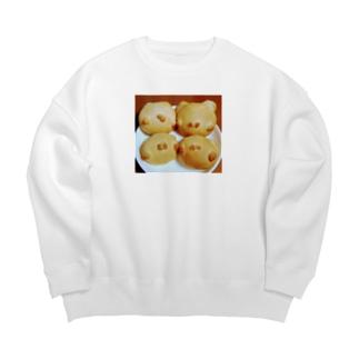 シェイモのシェイモねこちゃんパン Big silhouette sweats