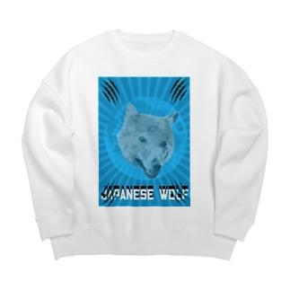 🐺Japanese Wolf 🐺 Big silhouette sweats