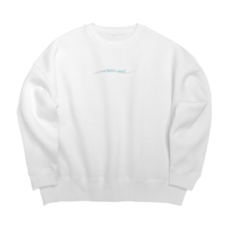 chill out 「リラックスしよ」 Big silhouette sweats