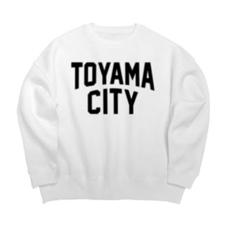 toyama city 富山ファッション アイテム Big silhouette sweats