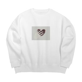 痛み Big Crew Neck Sweatshirt