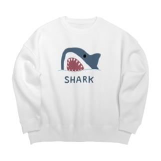 サメ Big silhouette sweats
