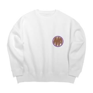 Ms Amaryllis vintage circle logo Big silhouette sweats