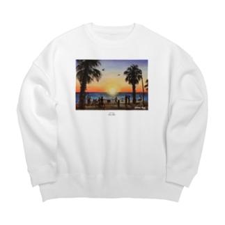 St.Kilda Beach Big silhouette sweats