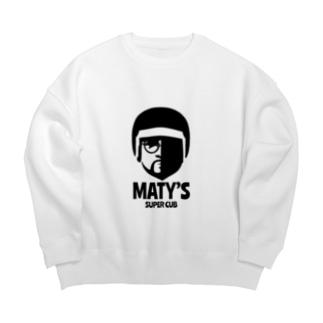 マティ Big silhouette sweats