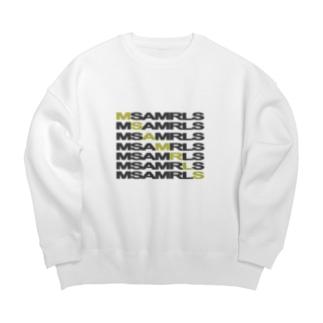 Ms Amaryllis のMs Amaryllis Width logo Big silhouette sweats