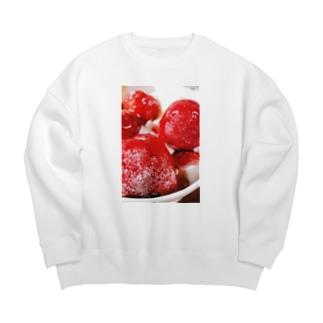 莓解凍待ち Big silhouette sweats
