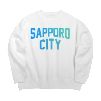 札幌市 SAPPORO CITY Big silhouette sweats