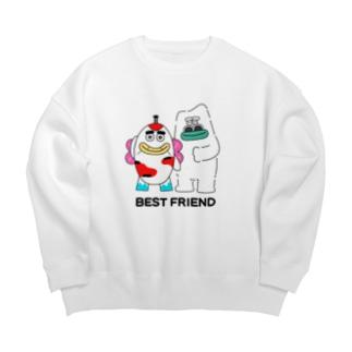 BEST FRIEND Big silhouette sweats