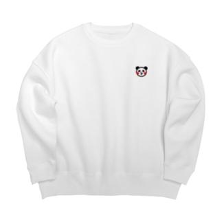 <パンダさん>アニマルファッション Ver.002 Big silhouette sweats