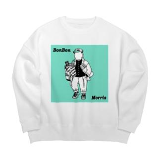 BonBonのショッピングモーリス Big silhouette sweats