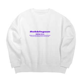 Bubblegum Lilac  Big silhouette sweats