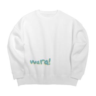 Wara!wear Big silhouette sweats