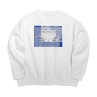 self brandingってなーに Big Crew Neck Sweatshirt